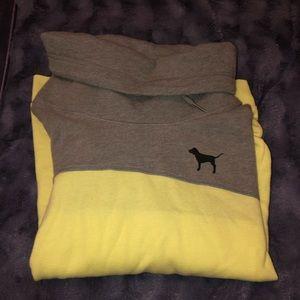 Cowl Neck VS PINK sweatshirt
